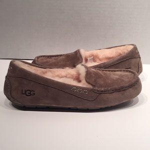 UGG Ansley Slate Suede Women's Slippers